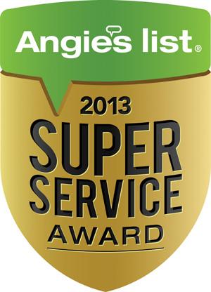Angies Super Service Award 2013