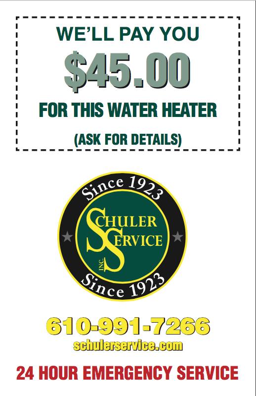 We pay you allentown plumber schuler service allentown pa plumbing