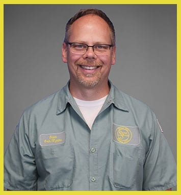 Vice President of Outside Operations and Service Manager Shawn Schwoyer