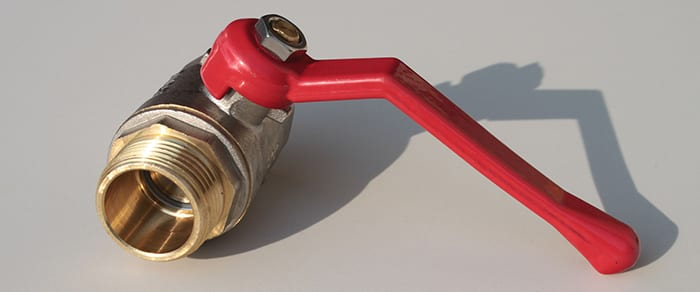 red valve lever