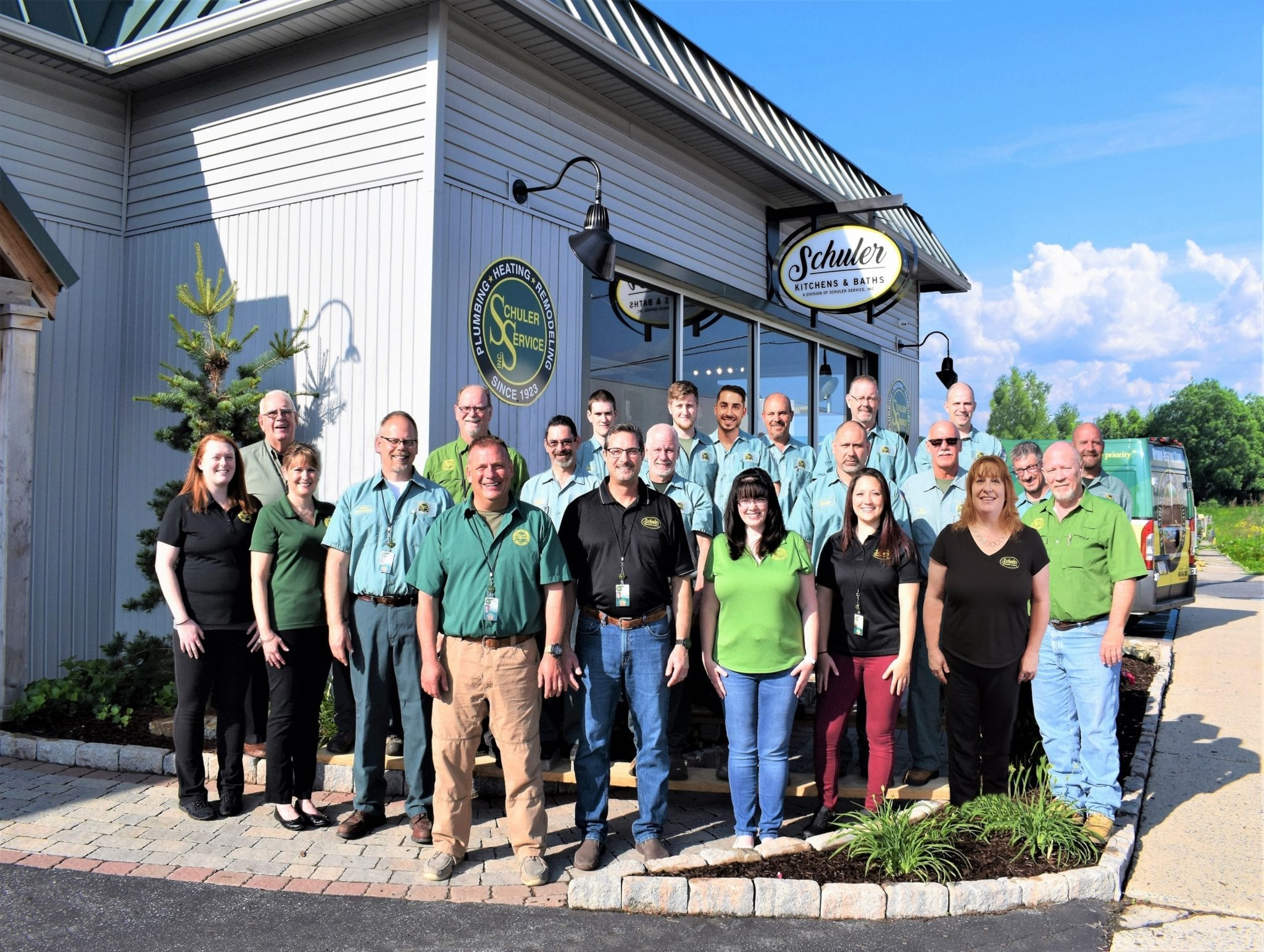 schuler service team photo from october 2019