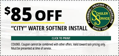 municipal water service coupon