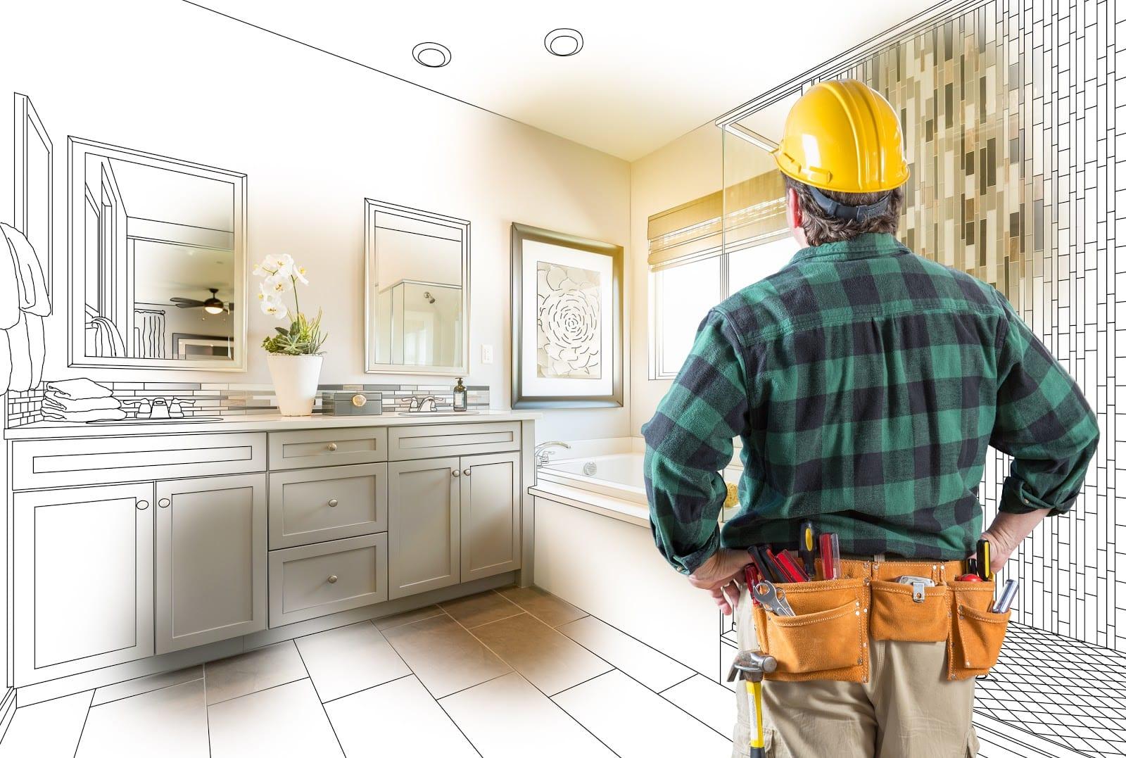 Contractor Facing Custom Master Bathroom