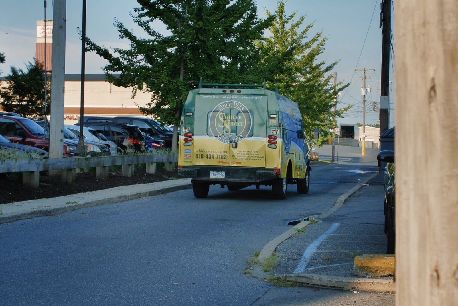 Schuler Service Van