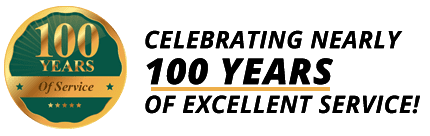 Celebrating Nearly 100 Years of Excellent Service