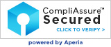 CompliAssure Secured. Click to Verify. Powered by Aperia
