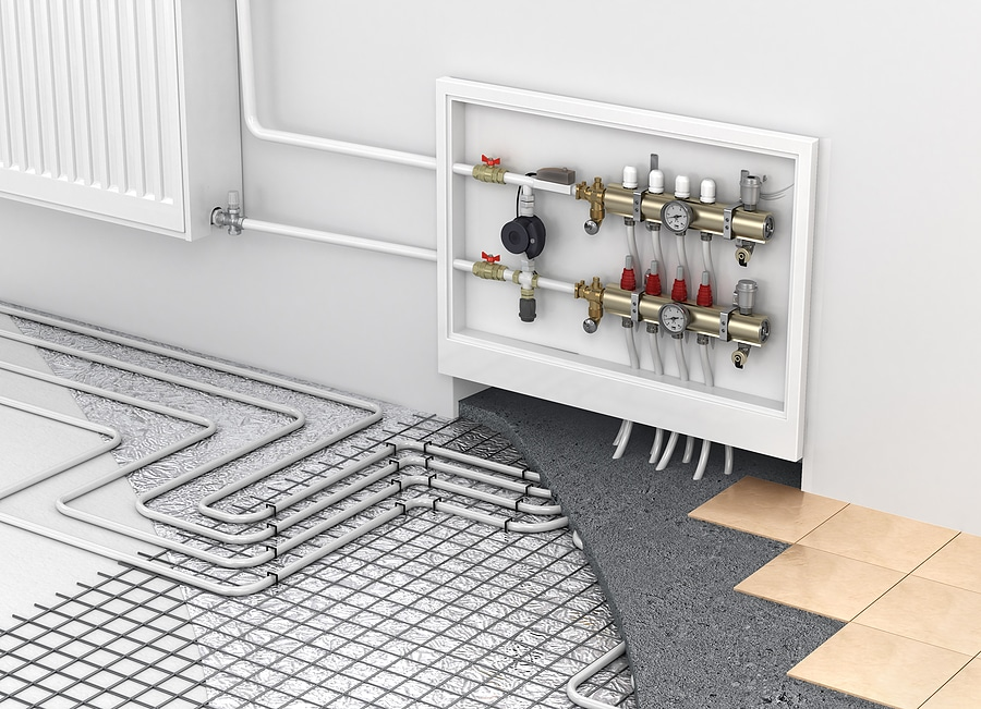 Underfloor Heating, Heated Floors, Radiant Floor Heating Installation Schuler Service Allentown, Pennsylvania